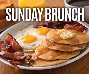 Sunday Brunch dining promotion